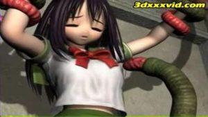 【3Dエロアニメ】美少女二人が捕らえられて魔人の触手にやられたり淫獣に襲われたり凌辱の限りを尽くされる