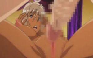 【エロアニメ】黒ギャルJKがおじさんのデカチンをぶち込まれてヒーヒーいってらぁ♪オッサンだからって舐めて掛かったらこうなっちゃうぞ
