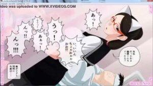 [エロアニメ]めがねのネコミミ委員長JKは真面目なのかと思ったらめっちゃ痴女で机の下で隣の男子を手コキしてますよ